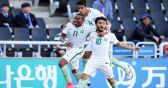 الأخضر السعودي الشاب يتعادل مع الأمريكي ويتأهل إلى الدور الثاني